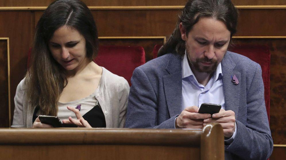 Foto: El líder de Podemos Pablo Iglesias, durante el acto de conmemoración del cuarenta aniversario de la Constitución. (EFE)