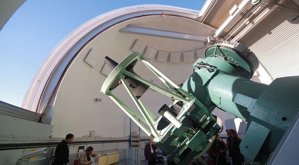 Foto: Fulminado el jefe de Astronomía de Calar Alto: Ha sido un castigo político