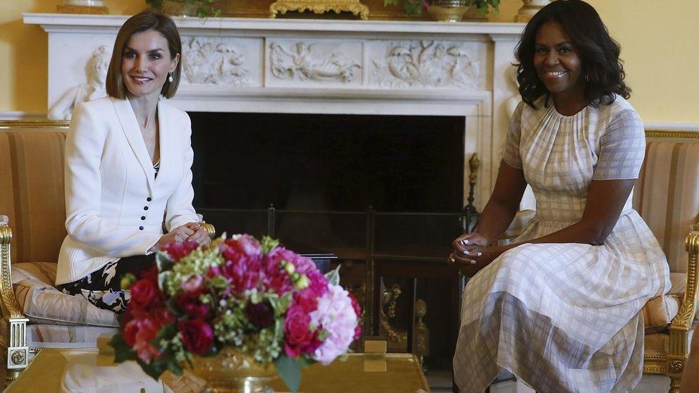 Michelle Obama y Letizia reafirmarán su amistad en una nueva visita