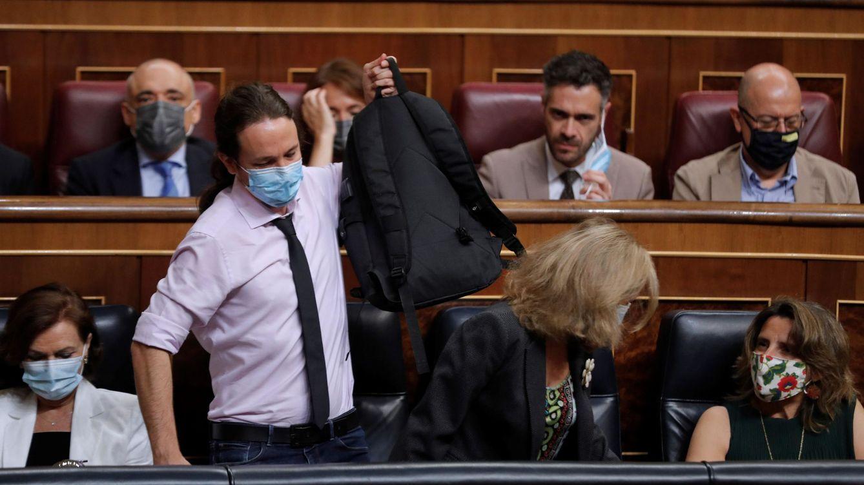 Iglesias desvela una fuerte discusión y disculpas de Sánchez por la huida del Rey