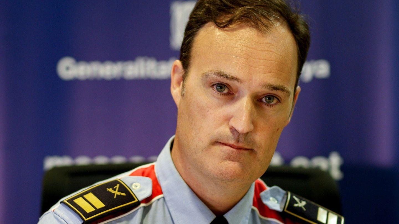 El comisario jefe de los Mossos d'Esquadra, Eduard Sallent. (EFE)