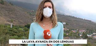Post de Los problemas de Himar González tras informar sobre el volcán en La Palma