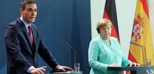 Post de Merkel advierte ante Sánchez de las