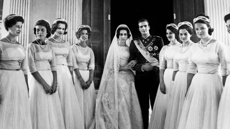 Juan Carlos y Sofía, el día de su boda. (Cordon Press)