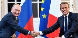 Post de Macron y Putin negocian una posible cumbre sobre Ucrania en París