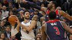 Explosión de Ricky Rubio: la silenciosa progresión para ser sensación en la NBA