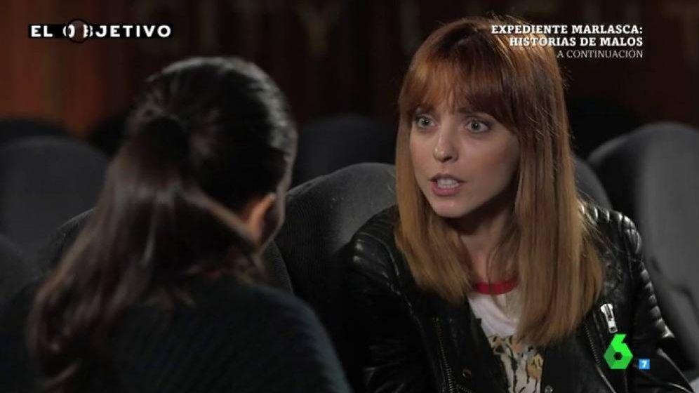 Foto: Leticia Dolera habla con Ana Pastor en 'Objetivo Acoso'.