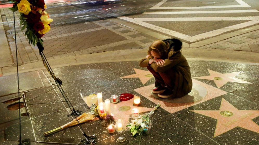 Foto: La estrella del actor en el Paseo de la Fama de Hollywood. (Reuters)