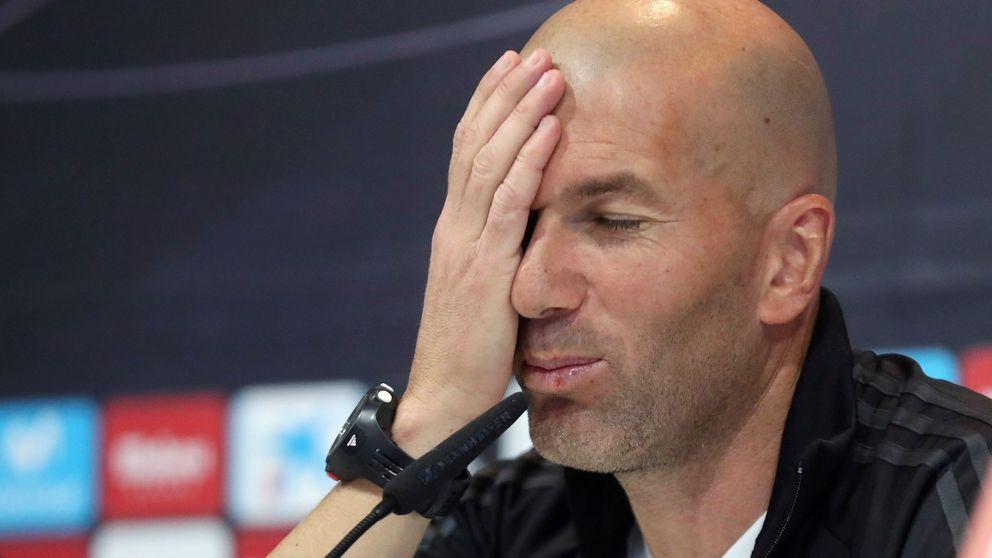 Zidane y la locura de hacer siempre lo mismo y esperar resultados diferentes