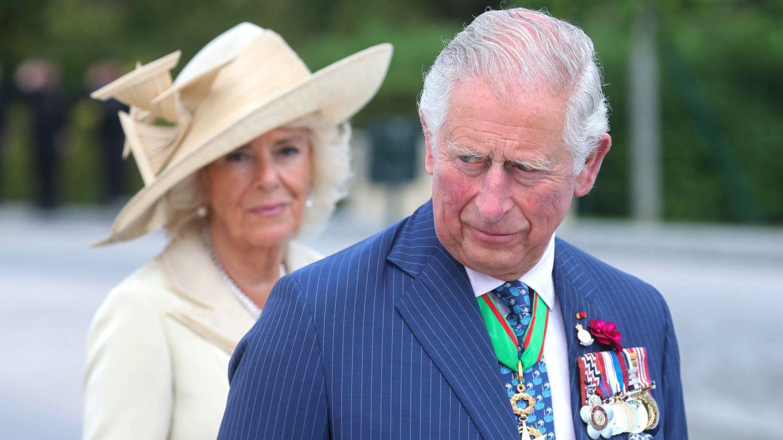 El príncipe Carlos de Inglaterra y Camilla Parker en una imagen de archivo. (EFE)