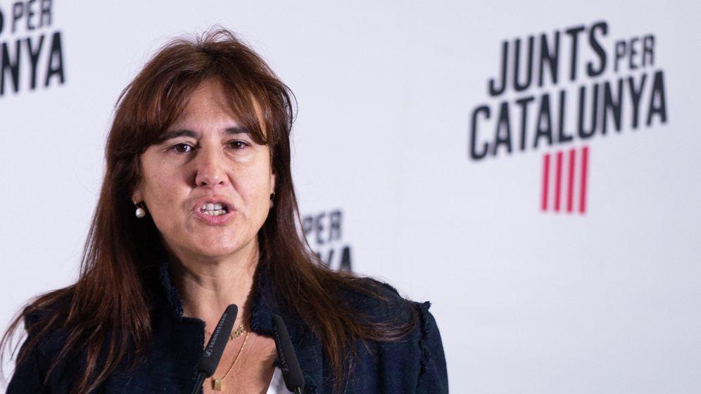 Foto: La número uno de JxCat al Congreso, Laura Borràs, en una foto de archivo. (EFE)