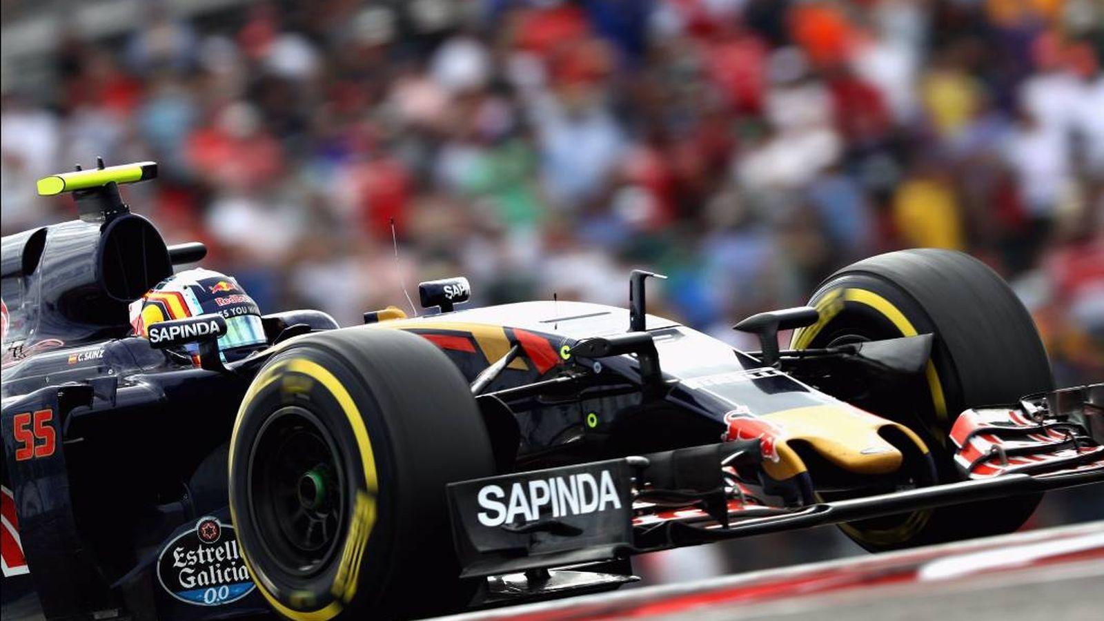 Foto: Carlos Sainz en su STR11 durante el GP de EEUU.