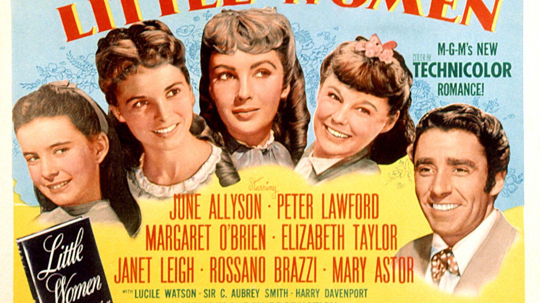 Cartel de la versión de 'Mujercitas' estrenada en 1949. (Cordon Press)