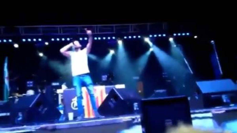 El rapero Valtonyc anima al público de un concierto a matar un puto guardia civil
