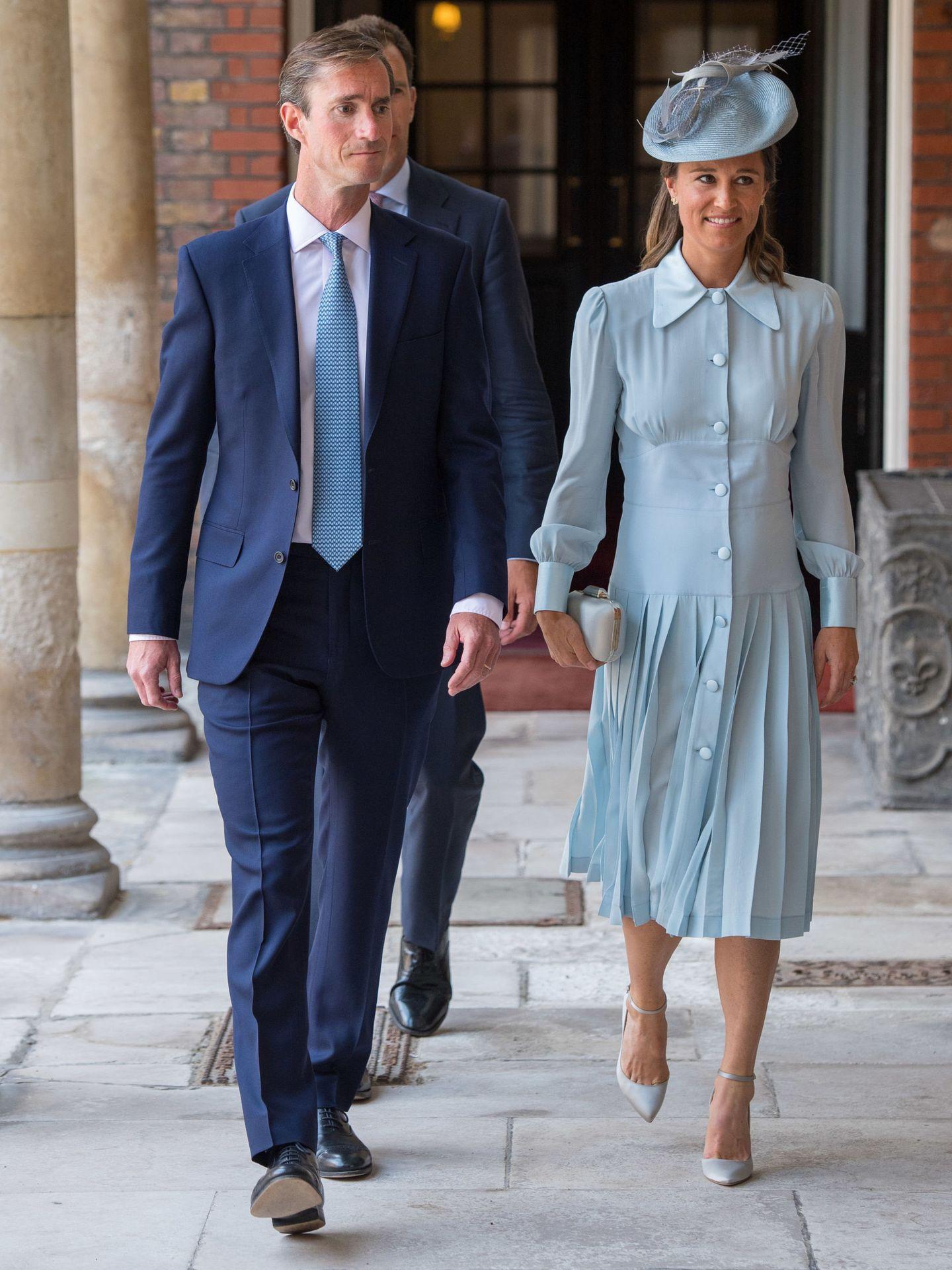 Pippa Middleton y James Matthews. (EFE)