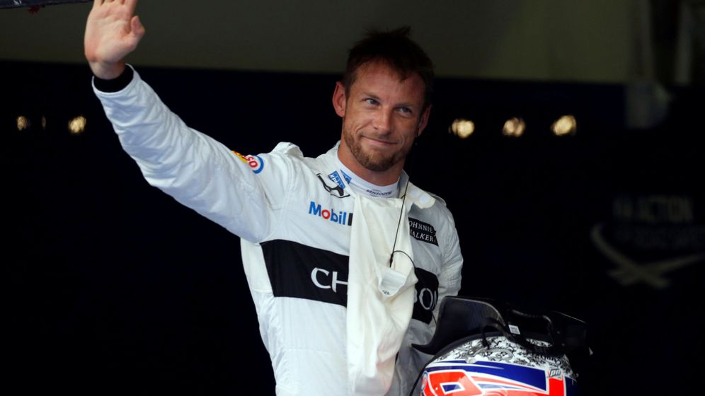 Foto: Jenson Button, piloto probador de McLaren y futuro piloto de rallycross, entre otras disciplinas.
