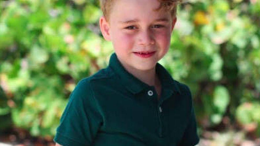 Las fotos del 6º cumpleaños de príncipe George (con felicitación de Meghan Markle)