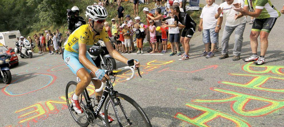 Foto: Nibali, durante una etapa del Tour de Francia (EFE)