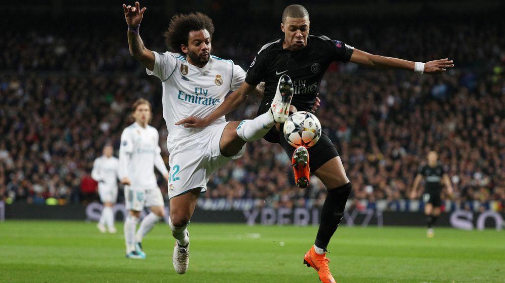 Foto: El primer y único partido de Kylian Mbappé en el Santiago Bernabéu: la ida de los octavos de Champions de la temporada 2017-2018. (Reuters)