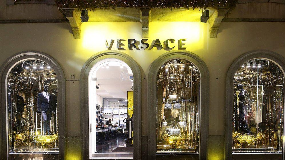 Foto: Tienda de Versace en Milán, Italia (Getty)