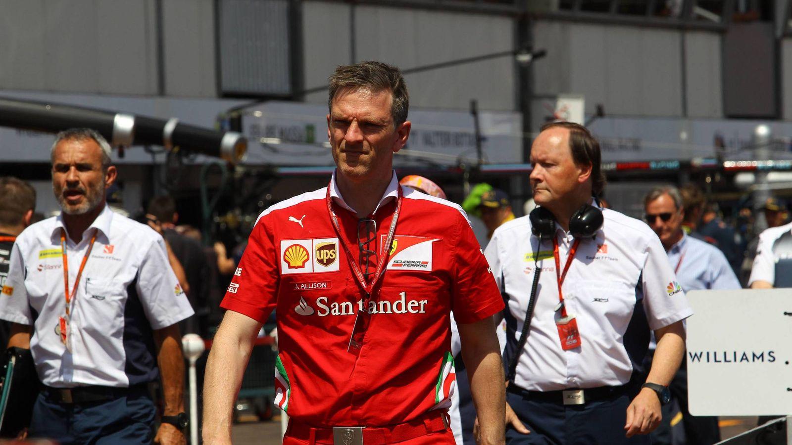 Foto: James Allison, exdirector técnico de Scuderia Ferrari, el GP de Mónaco de este año.
