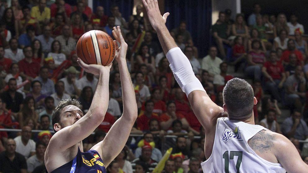 A España y a Pau Gasol aún les queda mucho trabajo antes de los Juegos