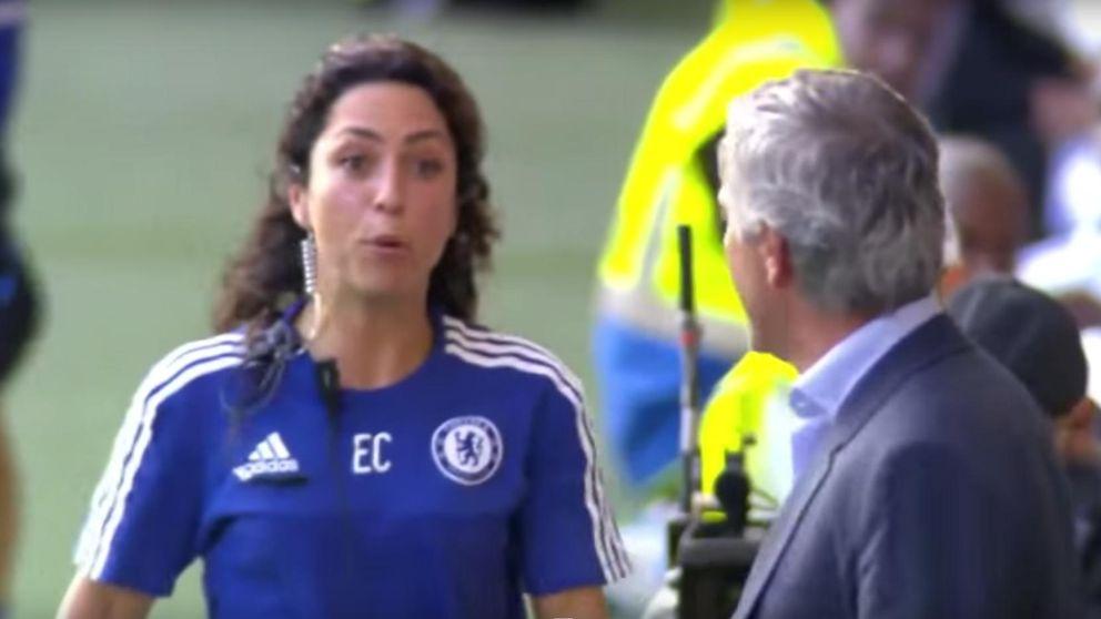 Mourinho da la baja a Eva Carneiro y la deja fuera del banquillo ante el City