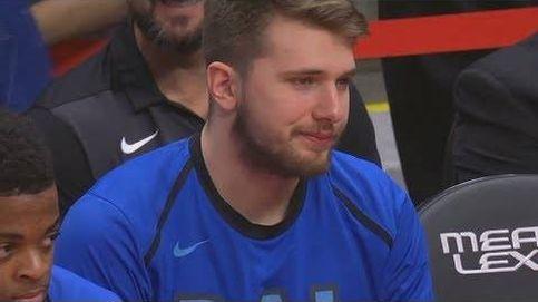La cara de Luka Doncic al saber que no jugará el All-Star