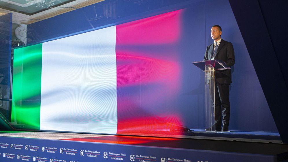 Foto: Luigi Di Maio, ministro de Exteriores italiano. (EFE)