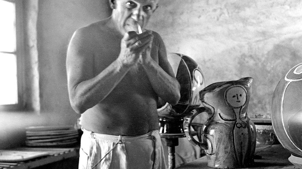 Foto: El pintor Pablo Picasso.