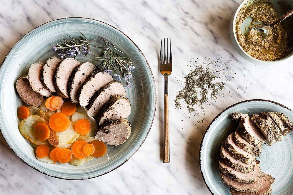 Foto: Te explicamos paso a paso cómo hacer este solomillo de cerdo marinado. (Foto: Snaps Fotografía)