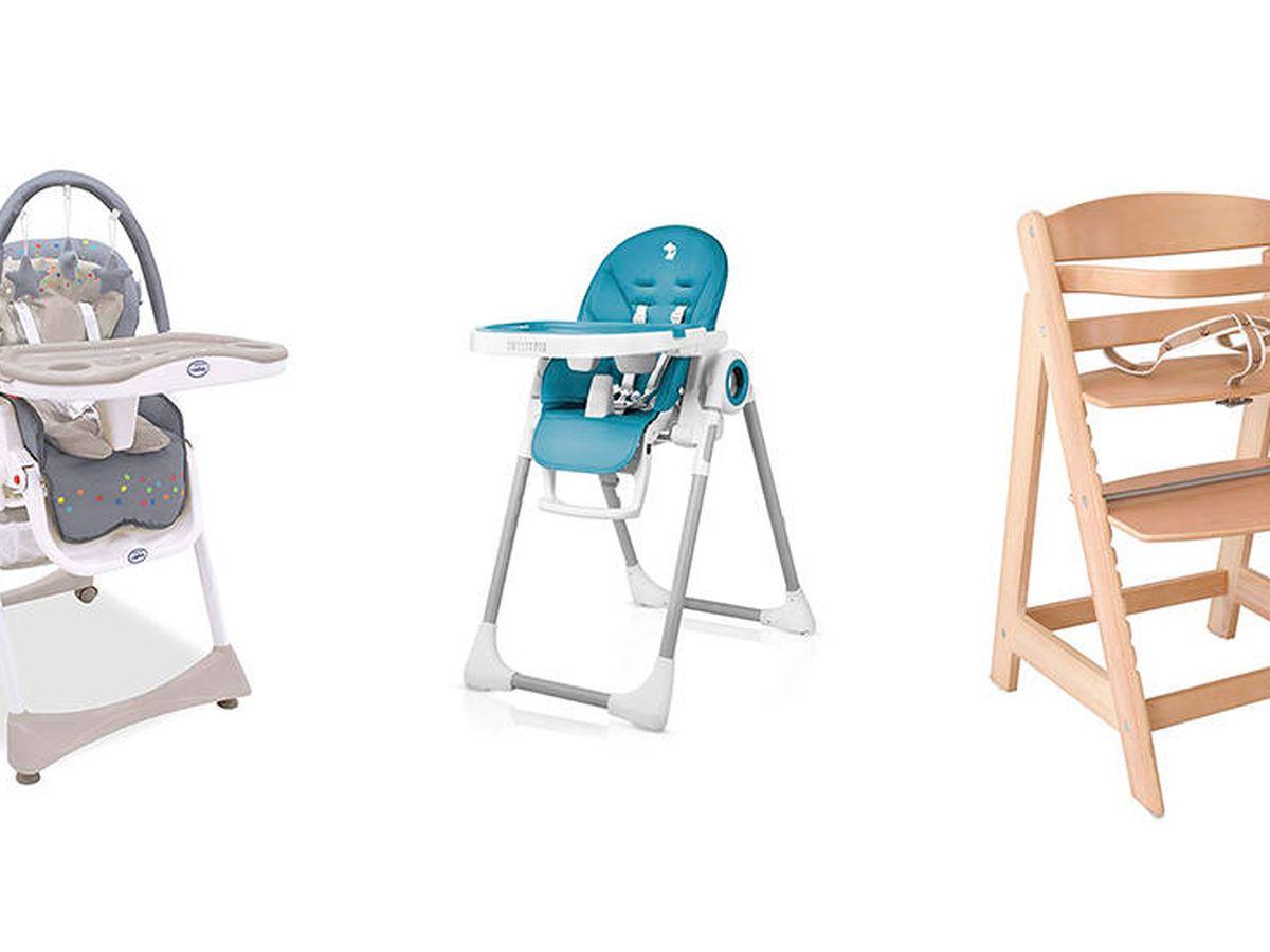 Bebé Niño Trona Alimentar silla de asiento silla alta infantil Bandeja de alimentos Cinturón De Seguridad