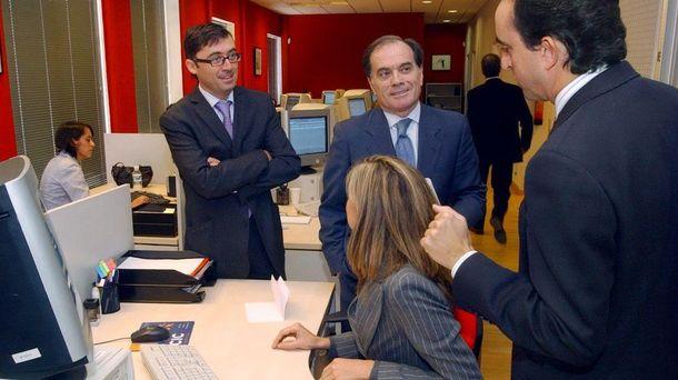 Foto: Rafael Delgado, Tomás Villanueva y Alberto Esgueva. (EFE)