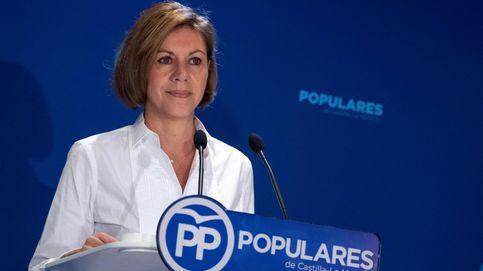 Cospedal: si Sánchez se apoya en los 'indepes', será un enemigo del Estado de derecho
