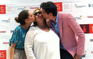 Carmina Barrios, la madre de Paco León, revoluciona Málaga por su frescura y espontaneidad