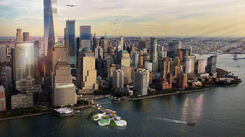 Es un ejemplo de los nuevos edificios corporativos que vienen. (3deluxe)