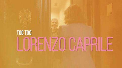 Entramos en el taller de Lorenzo Caprile.