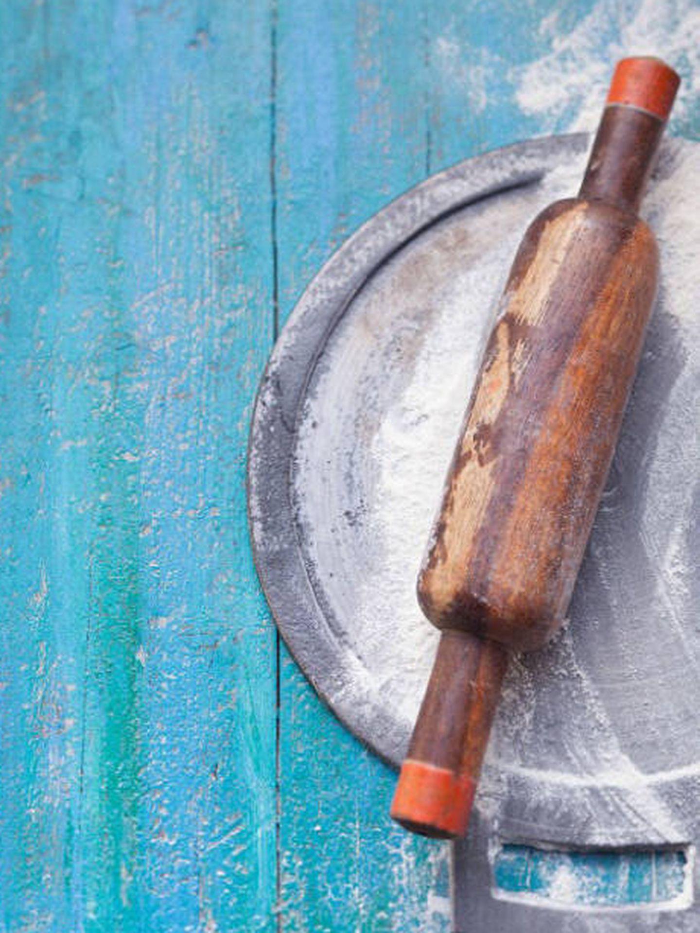 El rodillo y la harina