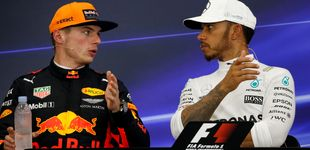Post de ¿Son iguales los estilos de pilotaje de Hamilton y Verstappen?