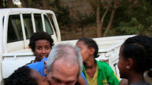 El ángel de la guarda español de los huérfanos etíopes