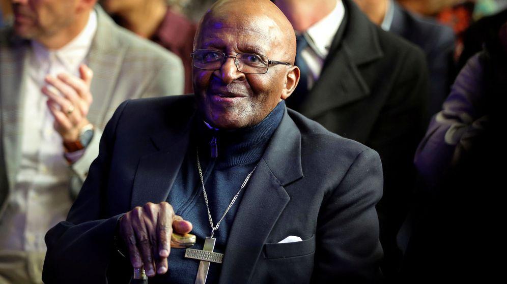 Foto: Desmond Tutu, Nobel de la Paz. (Reuters)