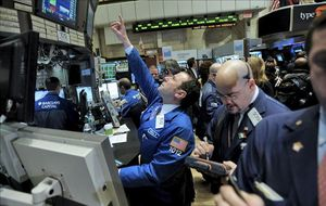 La bolsa de EEUU cierra en verde  tras conocer el aumento del paro