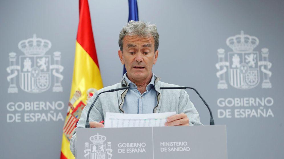 Foto: El director del Centro de Alertas Sanitarias, Fernando Simón. (EFE)