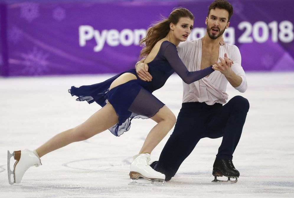 Foto: Los franceses Gabriella Papadakis y Guillaume Cizeron, plata en Pyeongchang | Reuters