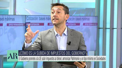 Javier Ruiz denuncia ante Ana Rosa Quintana el acoso a Pablo Iglesias