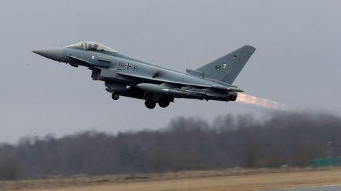 Un cazabombardero polémico: así es el Eurofighter estrellado en Albacete