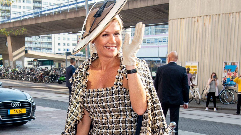 Máxima de Holanda y su look lady al más puro estilo Jackie Kennedy