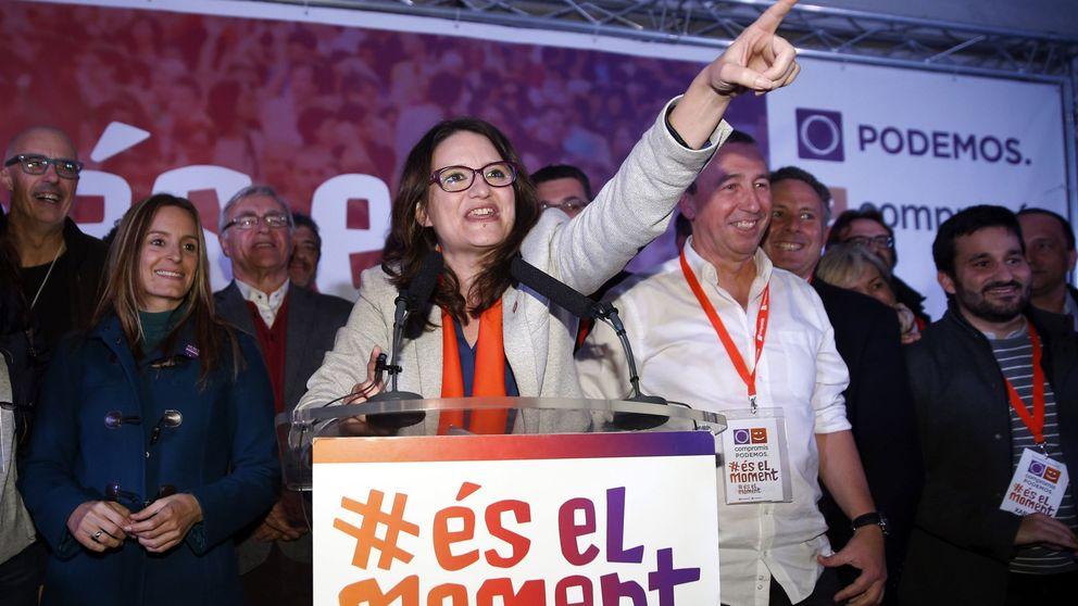 La alianza de Oltra desbanca al PSPV como segunda fuerza y presiona a Puig