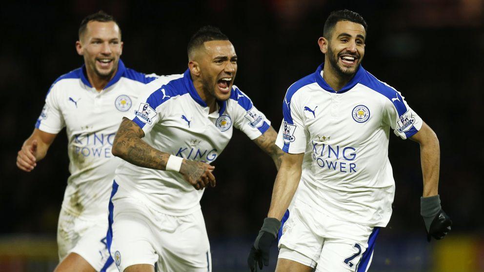 El Leicester se hace más líder gracias al empate entre el Tottenham y el Arsenal