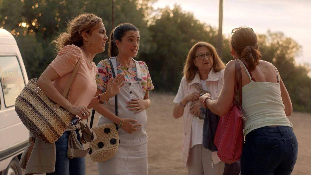 Foto: Protagonistas de 'Señoras del (H)ampa'. (Telecinco)